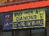 Jewellery Store Offers Free Hunting Rifle To Customers Who Buy A Diamond