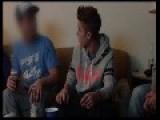 Justin Bieber Smoking Something