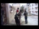 Kurdish Ypg Fighters Fighting Against Assads Army In Aleppo,westkurdistan