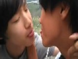 Korean Boys Kissing