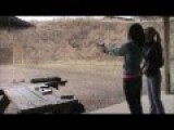 Kita Teaches A Girl To Shoot For Her First Time