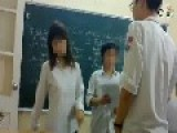 Kissing & Fighting In A Hanoi Classroom