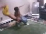 Kids Mimicking WWE Style Fighting