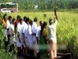 Kerala Minister Of Agriculture And Cabinet Members Fall Into Water