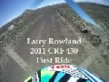 Larry Rowland Jr. First Ride On The New CRF 450