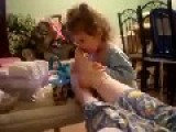 Little Kid Vs Bad Smelling Feet