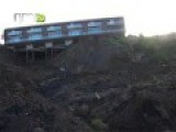 Landslide In Guimares, Portugal