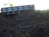 Landslide In Guimarães, Portugal