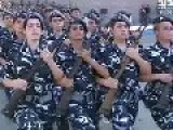 Lebanese Women Graduating From The Police Academy