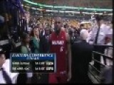 Lebron James Gets Beer Thrown At Him In 2012 Playoffs