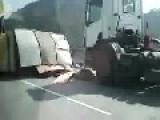 Look! A Crash Up Ahead Gun It Raj!