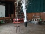 Liquid Nitrogen And 1500 Table Tennis Balls
