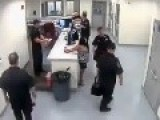 LEAKED VIDEO !!! Officer Uses Taser On Handcuffed Women In Custody Faces Discipline Action