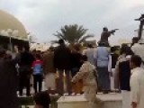 Libyans Begin The Process Of Demolishing Mosques Built By The Pill Popping Whoremongering Alcohol Soaked Gaddafi Clan