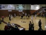 Lady Basketball Player Makes Crazy Full Court Shot