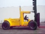 Massive Forklift Growling 1000 Along