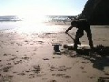 Metal Casting On The Beach