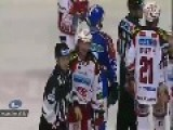 Massive Fight In Austrian Hockey League!!