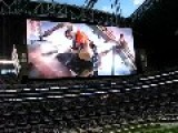 Massive Jumbo Tron Screen At Dallas Cowboys Stadium