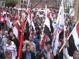 Mass Rally Pro Assad In Frankfurt Germany!!!!!
