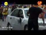 Malaysian Police Car Hits 2 Bersih 3.0 Protesters At SOGO Kuala Lumpur