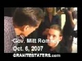 Mitt Romney Ruthlessly Tells Muscular Dystrophy Victim He Cant Have Medical Marijuana
