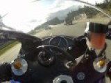 Motorcycle Reaches Speeds Of 186 Mph On Canadian Highway