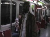 Mohammed's Poetry On Toronto Subway Train
