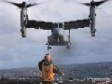 MV-22 Osprey Aboard USS Boxer LHD-4 - Exercise Iron Fist 2013 - HD