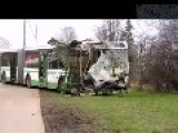 Major Accident On The Warsaw Highway 11 19 2012