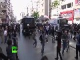 May Day Mayhem: Cops Teargas, Water Cannon Turkish Protesters