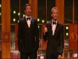 Neil Patrick Harris & Hugh Jackman  Hostduell