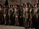 New Zealand Soldiers Farewell Comrades With Funeral HAKA