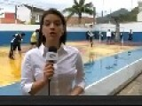 News Reporter Takes A Ball To The Head