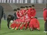 NKorea Football Soccer Training Exercise