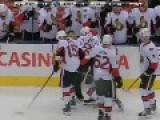 Ottawa Senator Gets Put To Sleep In Hockey Fight