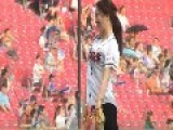 One Of The Coolest First Pitches You'll Ever See, Thanks To A Korean Gymnast