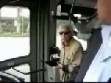Old Woman Vs Bus Driver - LOLOL!!!