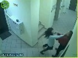Office Cat Fight Between Two Ladies In Russia