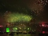 Pyrotechnic Extravaganza: Spectacular Video Of Sydney's New Year Fireworks