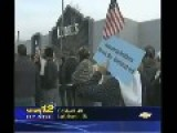 PATERSON NJ MUSLIMS PROTEST OUTSIDE LOWES