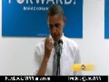 President Obama Crying During A Speech