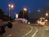 Painful Motorcyle Crash In Russia