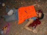 Police Informant Snitch Killed By The Beltran Drug Cartel, Placard Nailed To His Chest