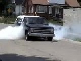 Pissed Off Neighbor After Sick Burnout