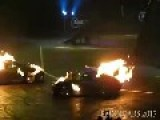 Porsche 911 On Fire And Doing Tricks!