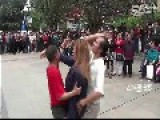 People Argue With City Inspectors Over Dancing In Public