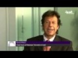 Pakistan's Imran Khan Interviewed By Arab Channel - Talks About Syria For The First Time