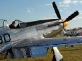 P-51 Mustang Startup And Taxi
