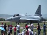Pakistani Airforce JF-17 In Turkish Airshow